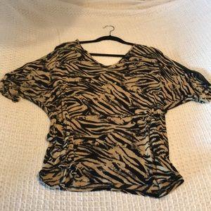 🌸 Zenobia Animal print stretchy top